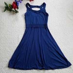 Max Studio Dress Women's Small Sleeveless Blue